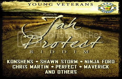 Jah ProtectMe  Riddim Young Veterans